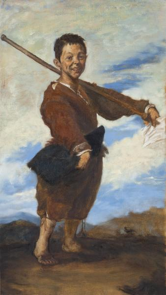Study of Ribera's Boy with a Clubbed Foot